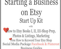 Business Startup-How to Etsy Complete Business Startup Kit