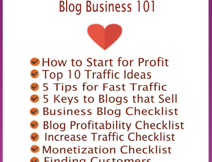 Business Blog 101 EBook