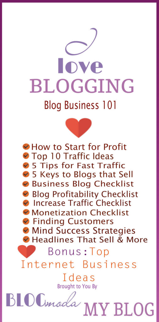 business blog 101